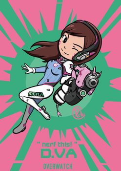 Nerf this!- Dva by picketG