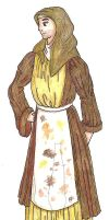 Spamalot- Mrs. Galahad, Dennis's Mother by unusual-filament