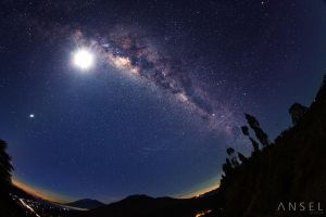 Milky Way over Kintamani by Draken413o