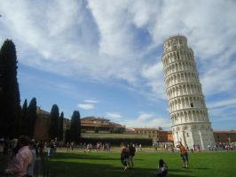 Leaning Tower of Pisa by Martelca