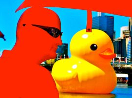 Le Rubber Duck by Geoperno