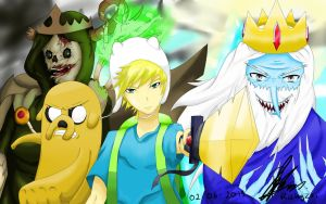 Adventure Time Fan Art by RizkyZRs