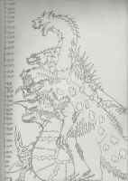 The Eternity War Chronicles Kaiju size sheet by TheAngryKaijuGuy
