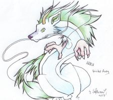 :Spirited Away: Haku by safphoenix