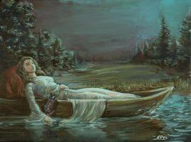 Lady of Shalott by mattandrews