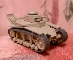 T-18  The first tank of the USSR by TheDesertFox1991