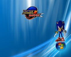 Epic Sonic Wallpaper for W7 by RavTheHedgehog