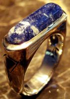 sodalite ring sterling by joelunchbox