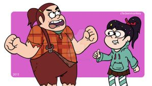 Grenda will WRECK IT! by Chickenmonkey707