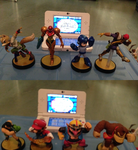 Amiibo Battles 3 and 4 by MarioBlade64