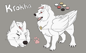 Krokha - reference sheet by Ghentian