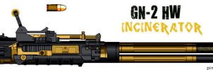 Weapons: GN-2 HW Special Edition by purpledragon104