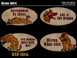 Hyena Shirts by Culpeo-Fox