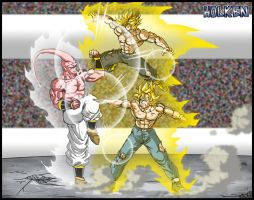 -DBM- Double trouble by DBZwarrior