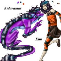 Dragon Song- Kim by Kalid909