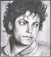 Michael Jackson Portrait by mathel