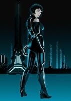 Quorra In Tron Legacy by Saeros89