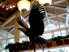 American Eagle Statue 2 by FairieGoodMother