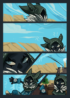 Walking City OCT Audition: Outsider pg 4/6 by empiredog
