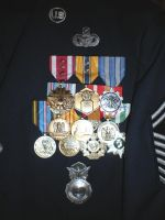 Air Force Blues Full Medals On A Security Forces by DefenderHecht