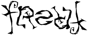 Ambigram - 'freak' by pringle9984