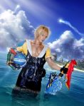 Leaving Besaid - Tidus FFX Cosplay by Leon Chiro by LeonChiroCosplayArt
