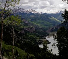 Overview of Lakecity Colorado by westtxphotographer