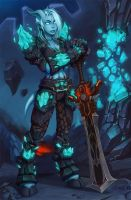 Calith, Cataclysm Raider by Zeon-in-a-tree
