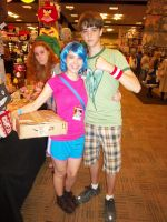 AFest '11 - Ramona and Scott by TEi-Has-Pants