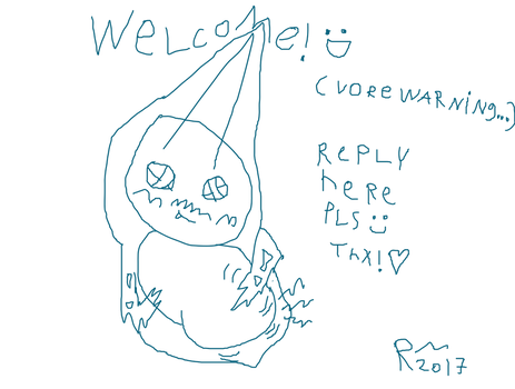 Welcome To My Profile Artwork? by WASH-R0T0M