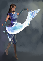 Katara of the water tribe by Chrono-King