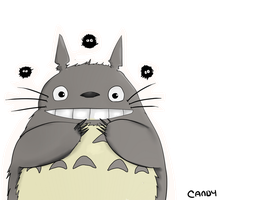 Totoro by CandyElmo