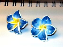 Blue Flowers by sississweets