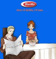 Request - Where there's Barilla there's home by LullaTheOtaku