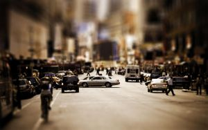 Tilt Shift New York 1920x1200 by Lagnar2010