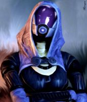 Mass Effect Tali'Zorah by Mirrage26