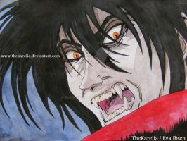 Alucard is...ANGRY... by TheKarelia