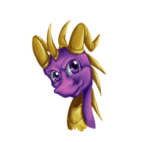 Painting - Spyro by Anzoul