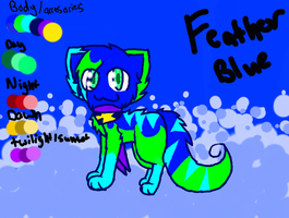 Feather Blue ref by Featherpool101