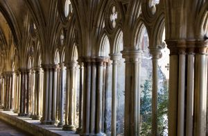 Salisbury Cathedral Cloisters by RichardCT