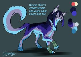 Kirigua refrence by Silverbloodwolf98