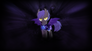Wallpaper - Never fear the shadow by romus91