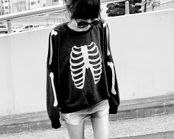walking skeleton by GodsGirl33