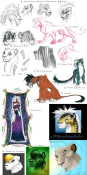 2003 Dump: Sketches III by HollowRaevin