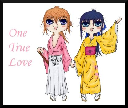 One True Love chibi by Muttered-innocence
