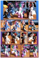 MLP: Knai, Misdirect, Dapple Dabble Blind Bags by Neko-daewen