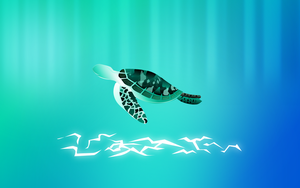 Gaia - Tribal Turtle by Golden-Ribbon