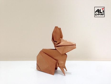 Origami Rabbit by superhoca