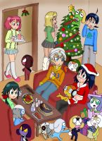Kero Christmas by PepperSupreme