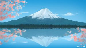 Mount Fuji by mclelun